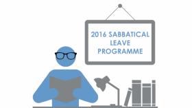 2016 Sabbatical Leave Programme