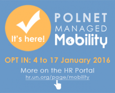 It's here! POLNET Managed Mobility - Opt in: 4 to 17 January 2016